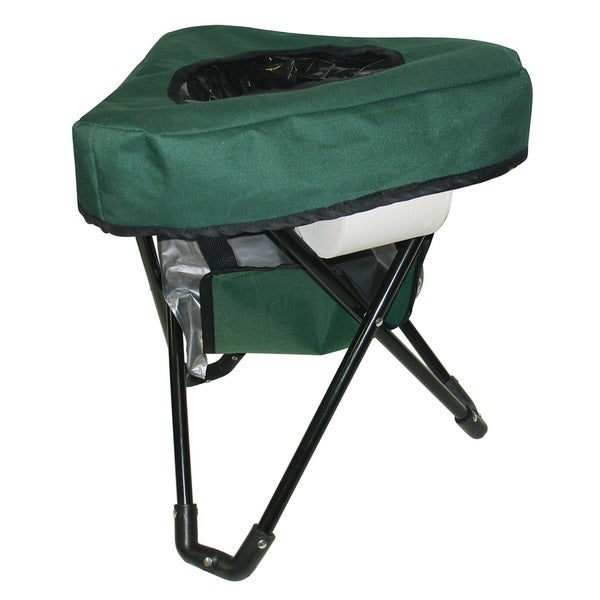 Reliance Tri-To-Go Portable Toilet/Camping Chair - Free Shipping On ...