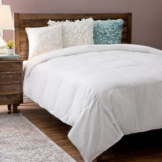 Grandeur Collection Luxe 400 Thread Count White Goose Down Comforter