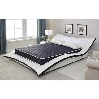 6inch full size foam mattress covered in a waterproof fabric