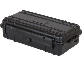 T.Z. Case Cape Buffalo Water-Resistant Utility Case Black (9.25 inches x 5.50 inches x 2.75 inches)