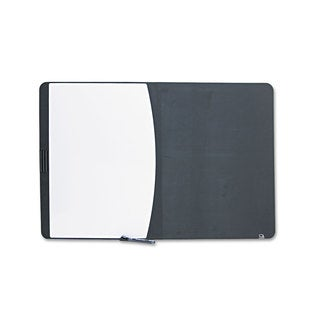 Quartet Tack & Write Combo Black/White Dry-Erase Board