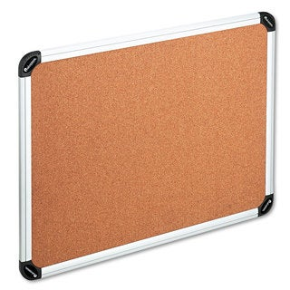 Universal One Natural Cork Board with Aluminum Frame