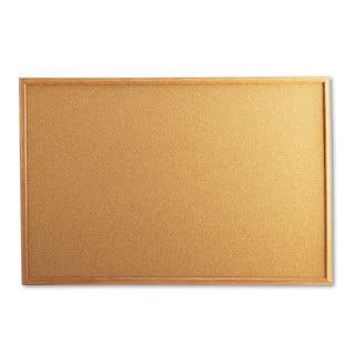 Universal Natural Cork Board with Oak Style Frame|https://ak1.ostkcdn.com/images/products/10192983/P17317967.jpg?impolicy=medium