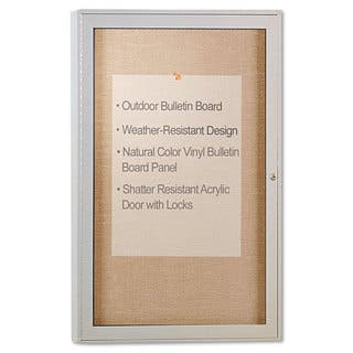 Ghent Enclosed Outdoor Bulletin Board https://ak1.ostkcdn.com/images/products/10192987/P17317971.jpg?impolicy=medium