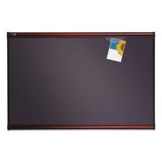 Quartet Prestige 36 x 24 Diamond Mesh Fabric Bulletin Board