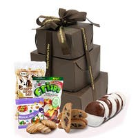Happy Father's Day' Gluten Free Gift Tower, Large, 2 pounds