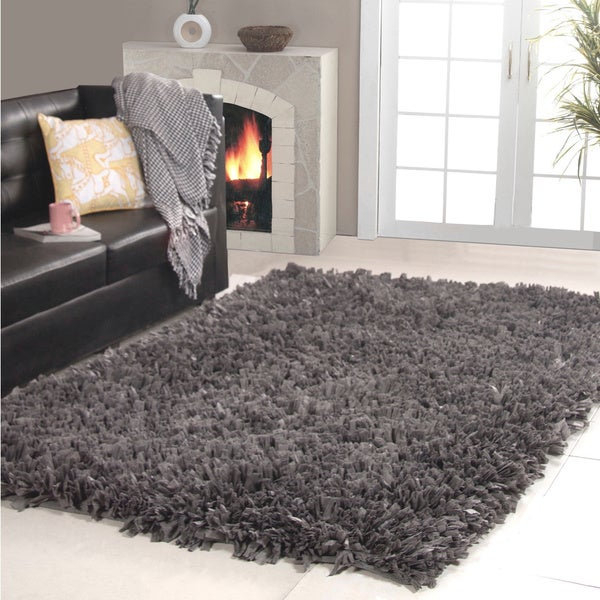 Affinity Home Collection Cozy Shag Area Rug (5u0027 ...
