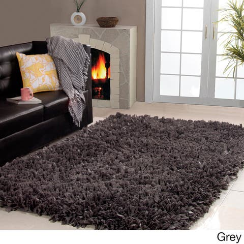 Affinity Home Collection Cozy Shag Area Rug (3' x 5') - 3' x 5'