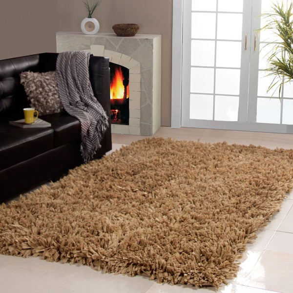 Shop Affinity Home Collection Cozy Shag Area Rug 3 X 5