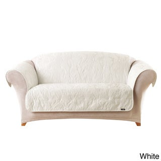 Sure Fit Matelasse Loveseat Pet Cover