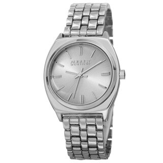 August Steiner Classic Men's Quartz Alloy Silver-Tone Bracelet Watch