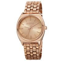 August Steiner Classic Men's Quartz Alloy Rose-Tone Bracelet Watch