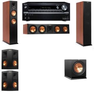 Klipsch RP-260F CH-R112SW-5.1-Onkyo TX-NR838 Tower Speakers