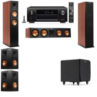 Klipsch RP-260F CH-SDS12-5.1-Denon AVR-X4100W Tower Speakers