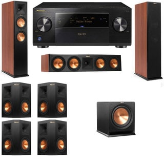 Klipsch RP-260F CH-RP-450C-R112SW-7.1-Pioneer Elite SC-85 Tower Speakers