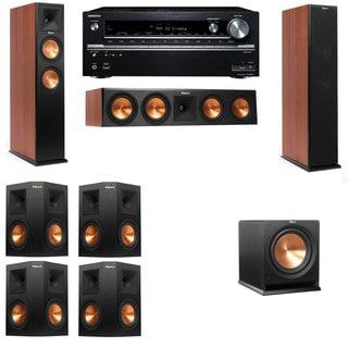 Klipsch RP-260F CH-R112SW-7.1-Onkyo TX-NR838 Tower Speakers