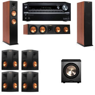 Klipsch RP-260F CH-PL-200-7.1-Onkyo TX-NR838 Tower Speakers