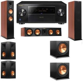 Klipsch RP-260F CH-RP-450C-5.2-Pioneer Elite SC-85 Tower Speakers