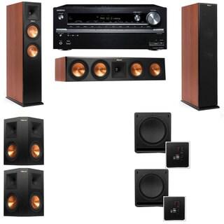 Klipsch RP-260F CH-SW-112-5.2-Onkyo TX-NR838 Tower Speakers
