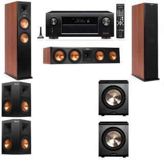 Klipsch RP-260F CH-PL-200-5.2-Denon AVR-X4100W Tower Speakers