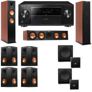 Klipsch RP-260F CH-RP-450C-SW-112 - 7.2 - Pioneer Elite SC-85 Tower Speakers