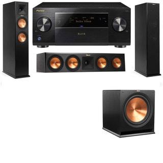 Klipsch RP-260F -RP-450C-3.1-Pioneer Elite SC-85 Tower Speakers