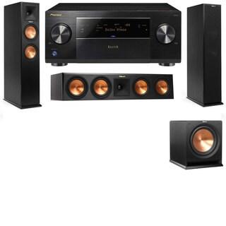 Klipsch RP-260F -RP-450C-R112SW-3.1-Pioneer Elite SC-85 Tower Speakers