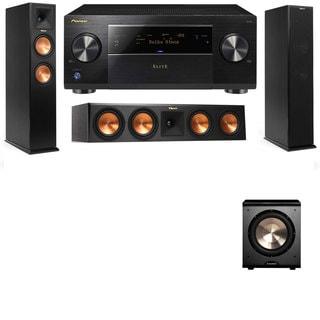 Klipsch RP-260F -RP-450C-PL-200-3.1-Pioneer Elite SC-85 Tower Speakers