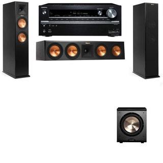 Klipsch RP-260F -PL-200-3.1-Onkyo TX-NR838 Tower Speakers