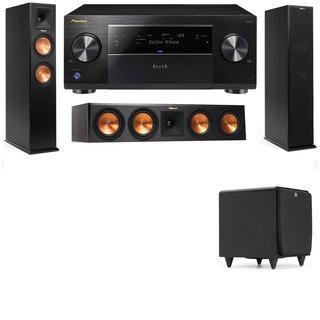 Klipsch RP-260F -RP-450C-SDS12-3.1-Pioneer Elite SC-85 Tower Speakers
