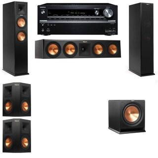 Klipsch RP-260F -R112SW-5.1-Onkyo TX-NR838 Tower Speakers