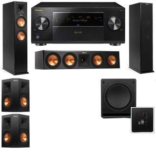 Klipsch RP-260F -RP-450C-SW-112-5.1-Pioneer Elite SC-85 Tower Speakers