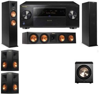 Klipsch RP-260F -RP-450C-PL-200-5.1-Pioneer Elite SC-85 Tower Speakers