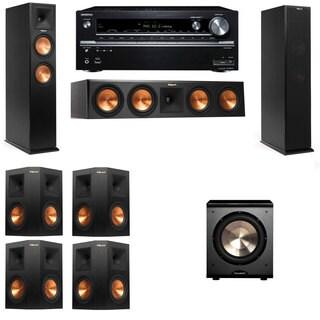 Klipsch RP-260F -PL-200-7.1-Onkyo TX-NR838 Tower Speakers