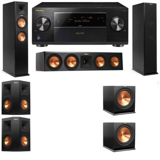 Klipsch RP-260F -RP-450C-5.2-Pioneer Elite SC-85 Tower Speakers