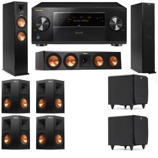 Klipsch RP-260F -RP-450C-SDS12-7.2-Pioneer Elite SC-85 Tower Speakers