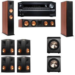Klipsch RP-260F CH-PL-200-7.2-Onkyo TX-NR838 Tower Speakers