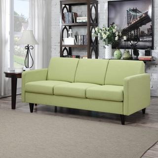Portfolio Luca Kiwi Green Linen SoFast Sofa