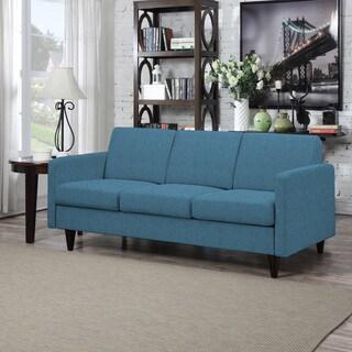 Portfolio Luca Caribbean Blue Linen SoFast Sofa