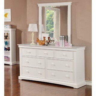 Bolton Cambridge 7 Drawer Chest with Mirror Set