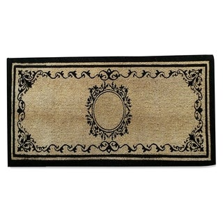 First Impression Elegant Coco Fibre Extra Thick Double Doormat (2' x 4'9)