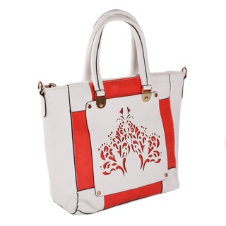 Lithyc 'Arcadia' Laser-cut Vegan Leather Tote