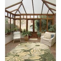 Rug Squared Melbourne Indoor/Outdoor Kiwi Rug - 10' x 13'
