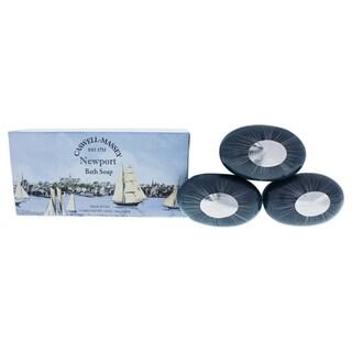 Caswell-Massey Newport Bath Soap (Box of 3)