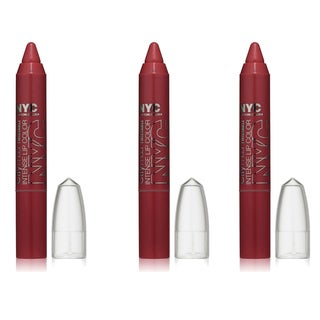 N.Y.C. New York Color Proof Twistable Intense Gramercy Park Plum Lip Color (Pack of 3)