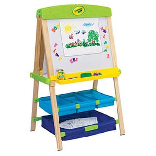 Crayola Draw'n Store Wood Easel|https://ak1.ostkcdn.com/images/products/10195283/P17319964.jpg?impolicy=medium