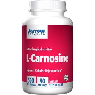 Jarrow Formulas L-Carnosine 500mg (90 Capsules)