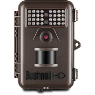 Bushnell 12MP Trophy Cam HD Essential Low Glow Trail Camera, Brown
