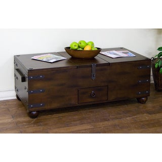 Sunny Designs Santa Fe Trunk Coffee Table