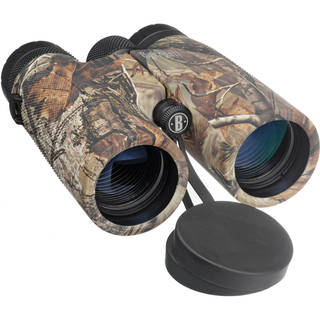 Bushnell 141043 Powerview 10x 42MM Realtree Camo AP Roof Binoculars
